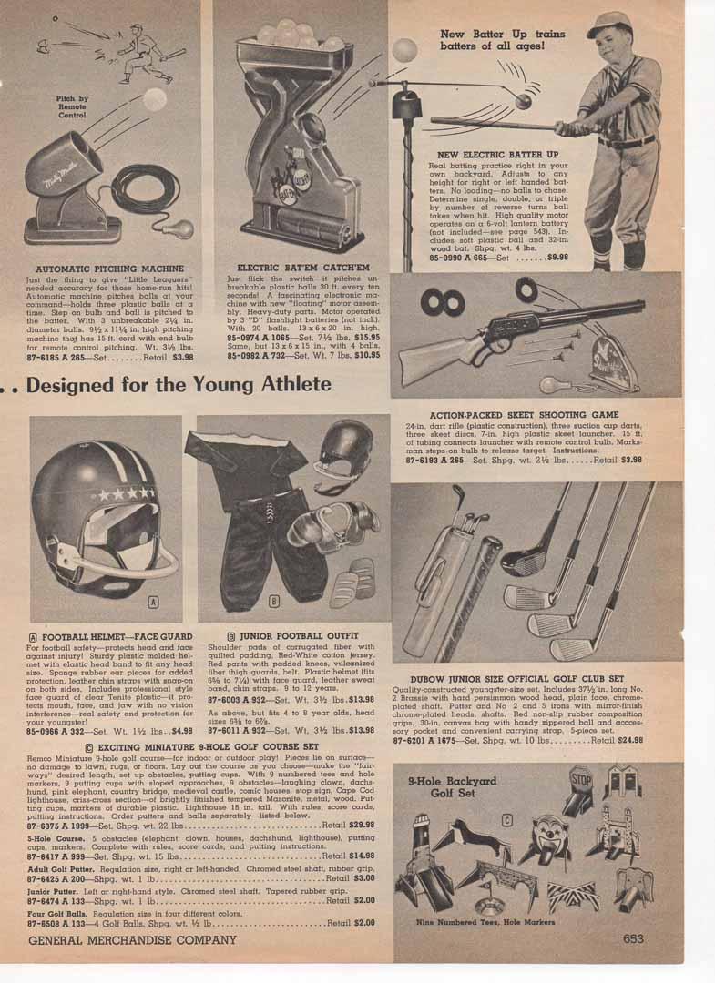 1958 general merchandise catalog