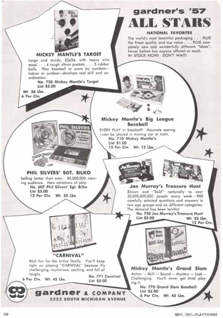 1957 playthings may