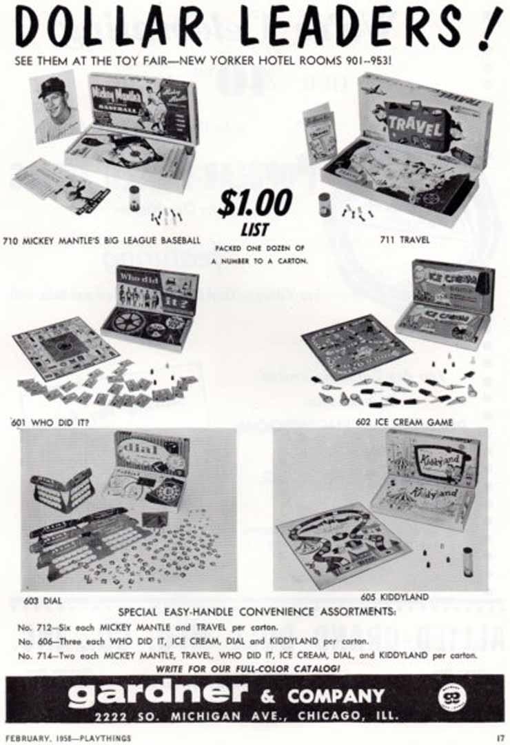 1958 playthings February