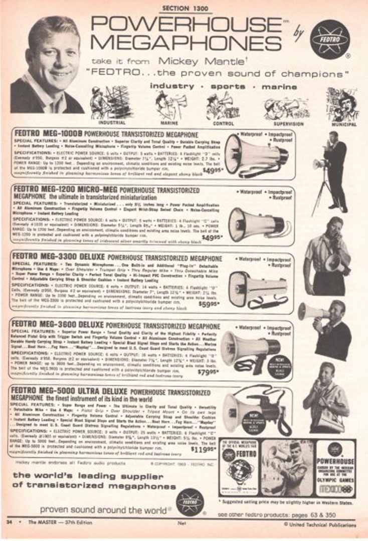 1960 era united technicals master publication