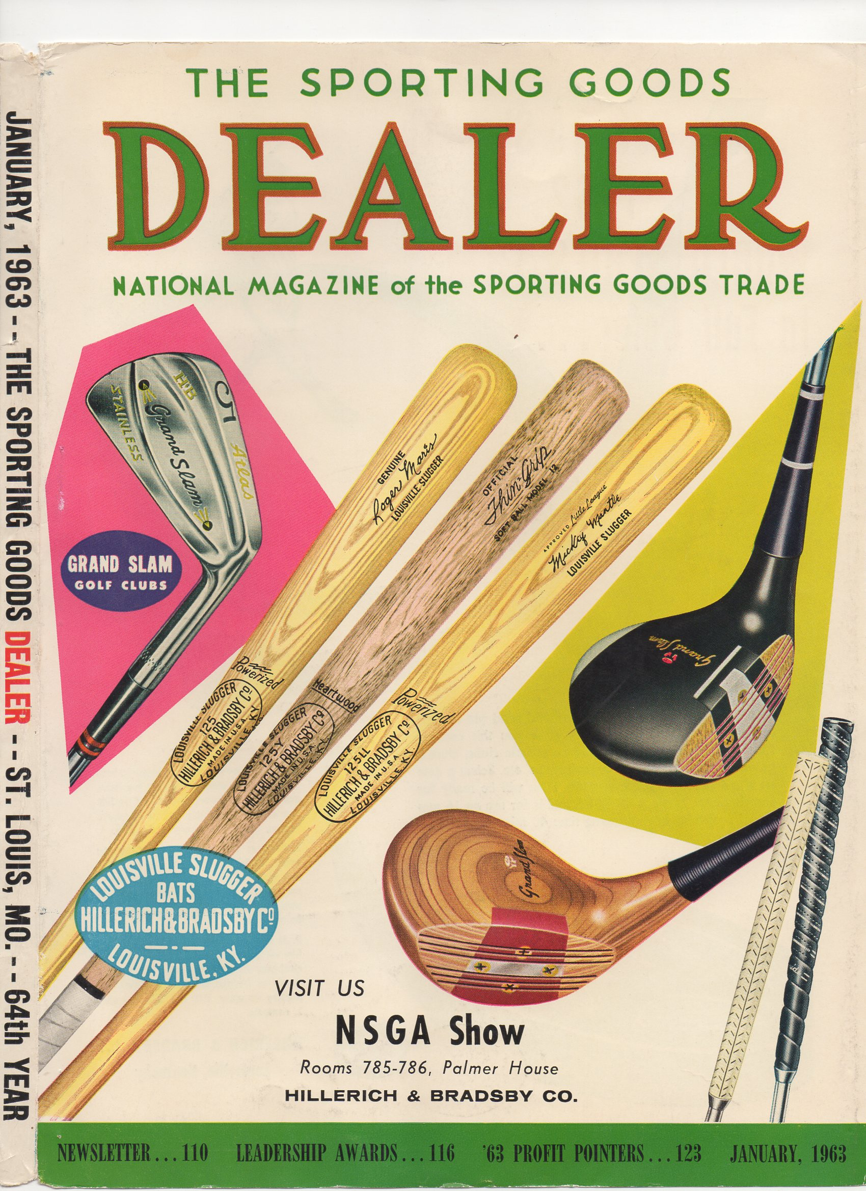 1963 the sporting goods dealer, january, newsletter no. 110