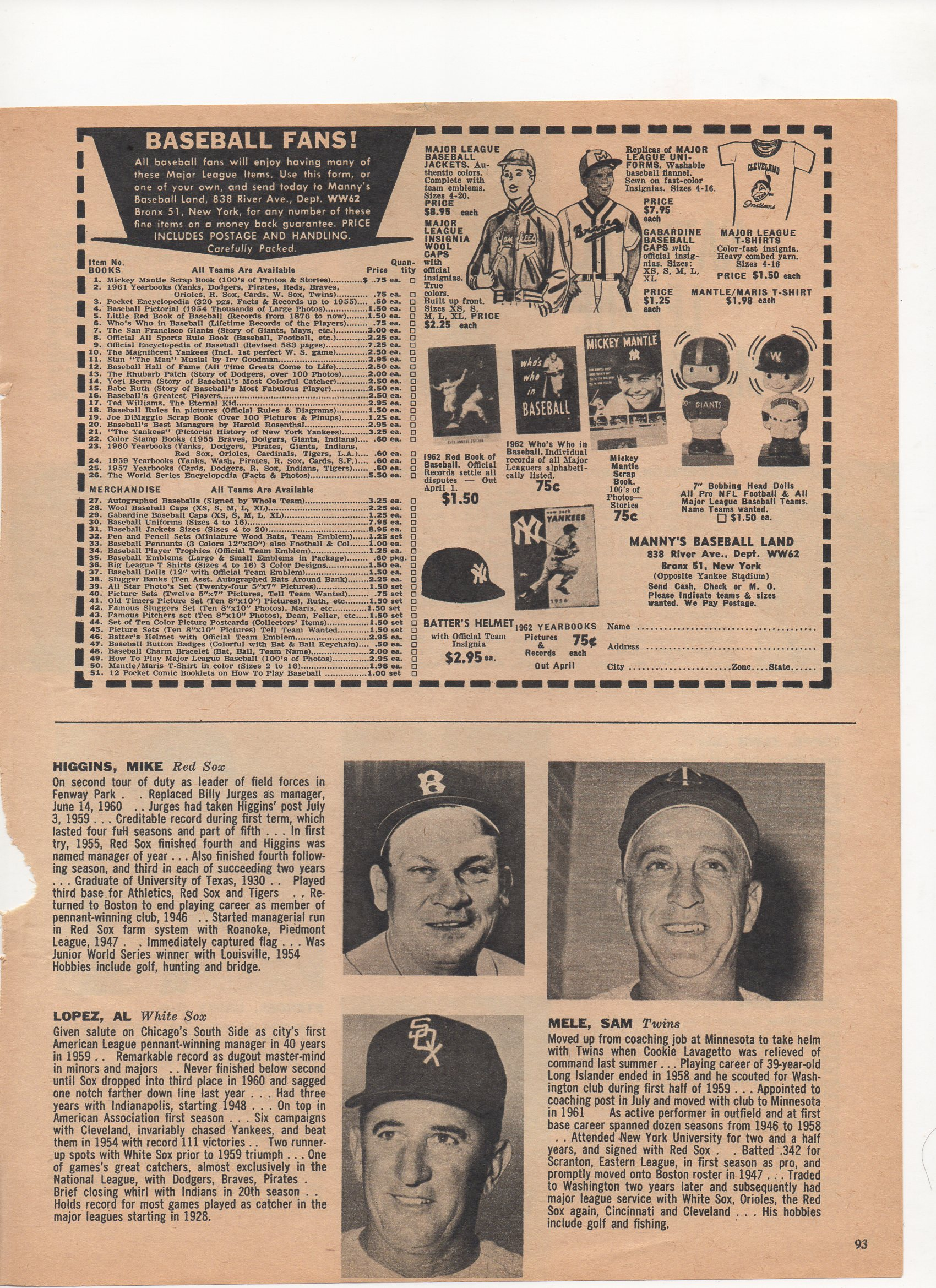 1962 dell sports, july, vol 1, no. 27