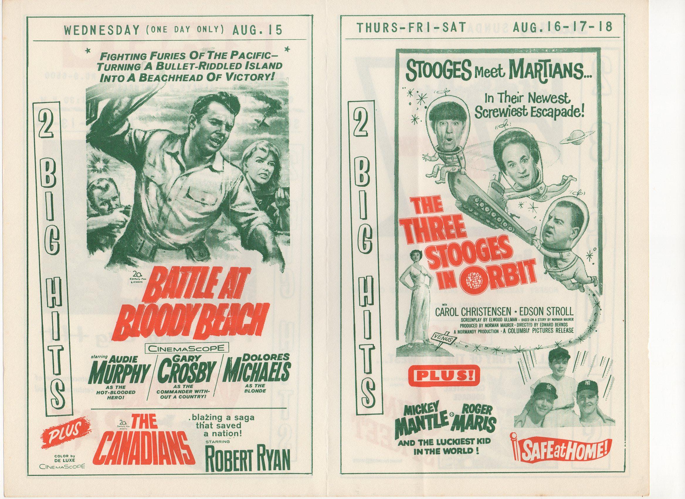 1961 rialto theatre 08/16-18