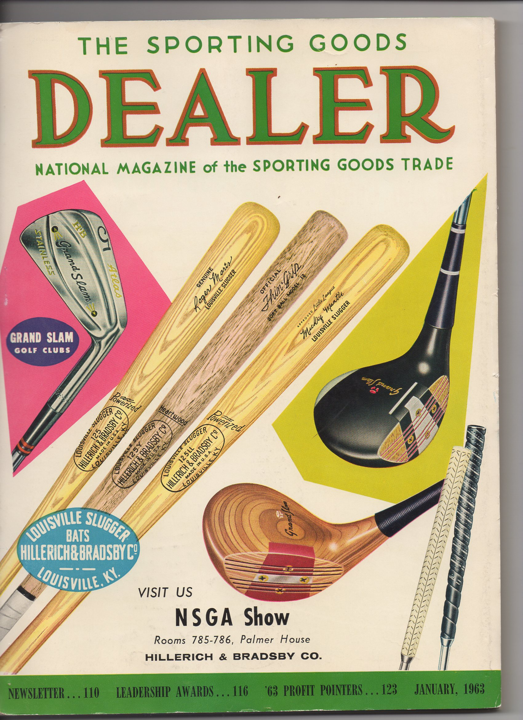 the sporting goods dealer, 01/1963
