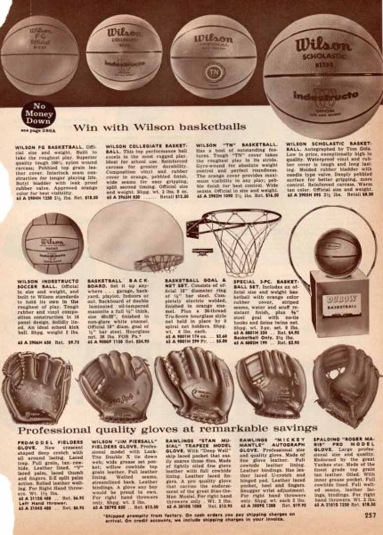 1962 lc mayers catalog