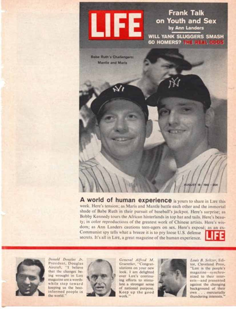 1961 sports illustrated 08/21