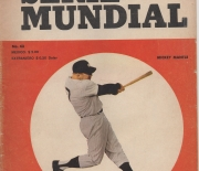 1961 serie mundial, mexico, number 43, 11/1961