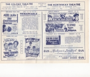1962, colony theatre, baltimore, maryland, 08/12-15/1962