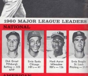 1961 baseball handbook and schedules