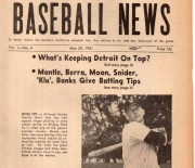 1961 los angeles ML baseball news 05/30