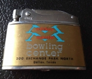 1960 era mantle bowling alley