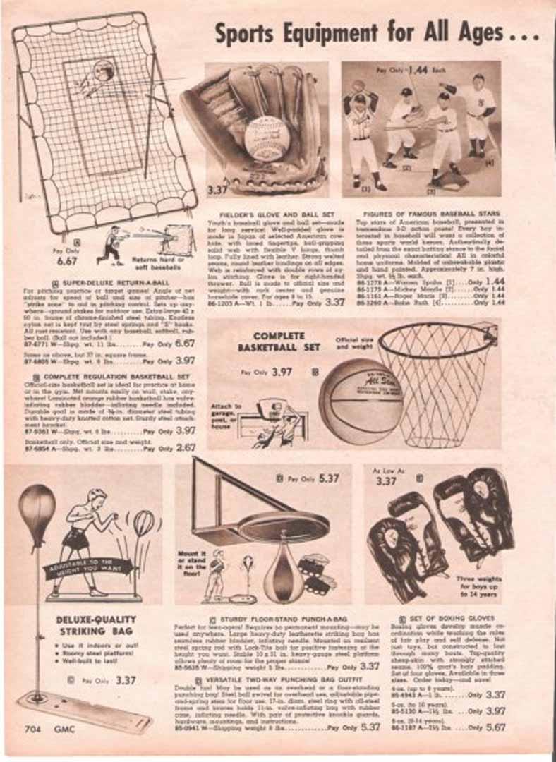 1962 general merchandise catalog