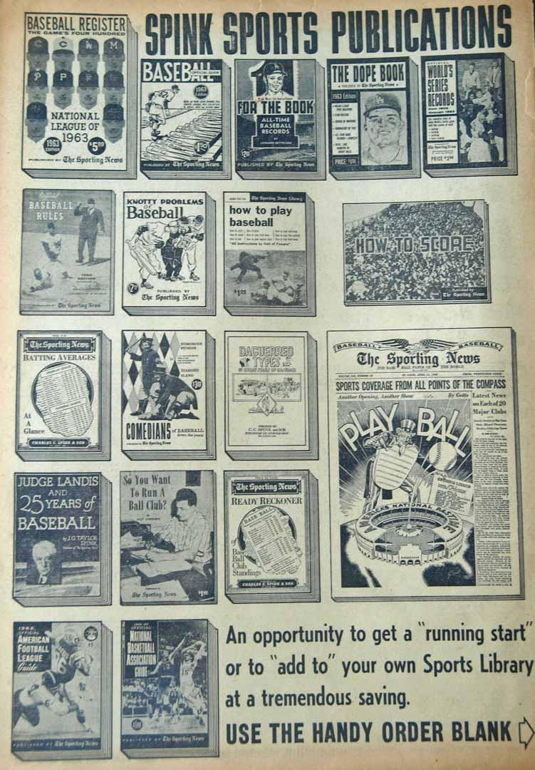 1963 sporting news 01/12