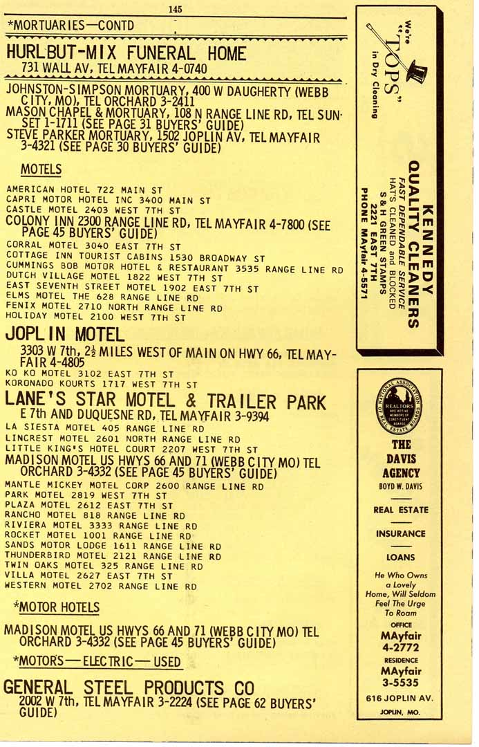 1963 joplin mo city directory