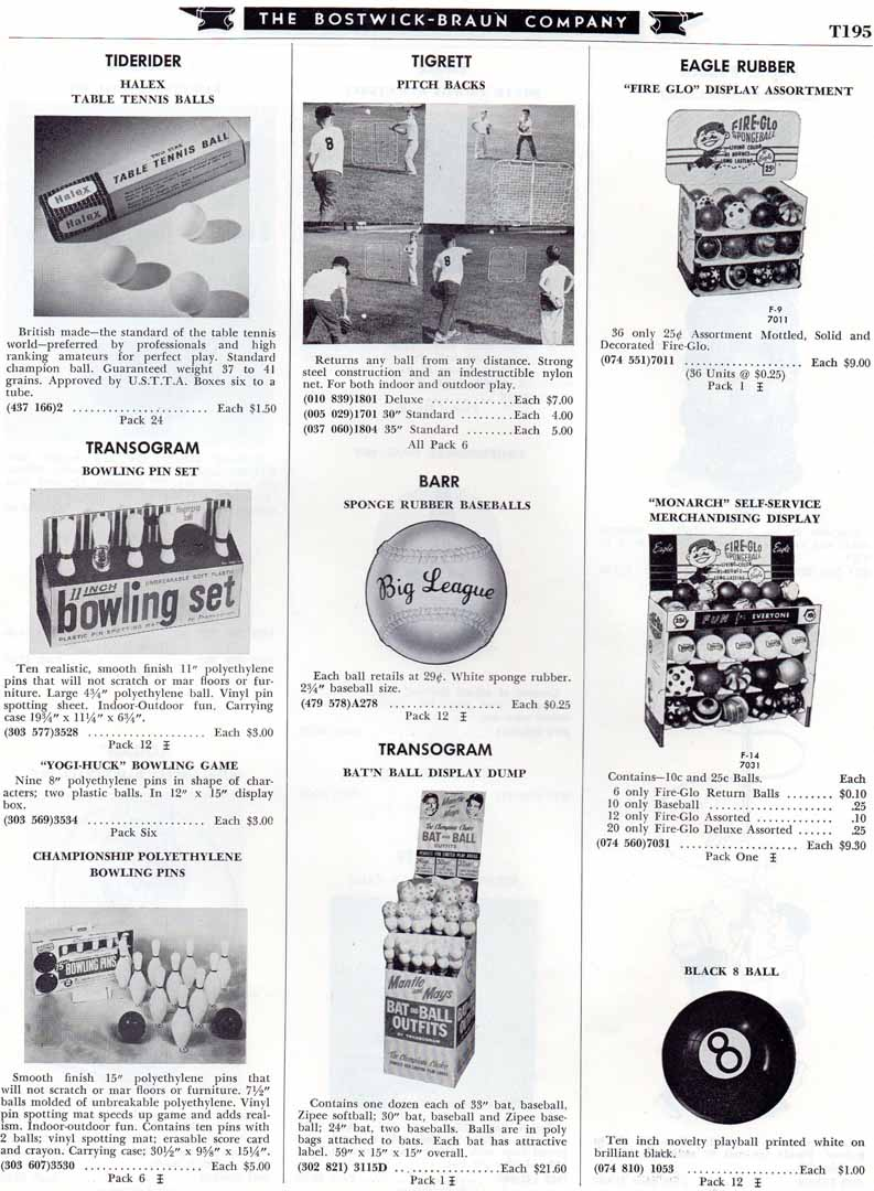 1964 Bostwick Braun Company