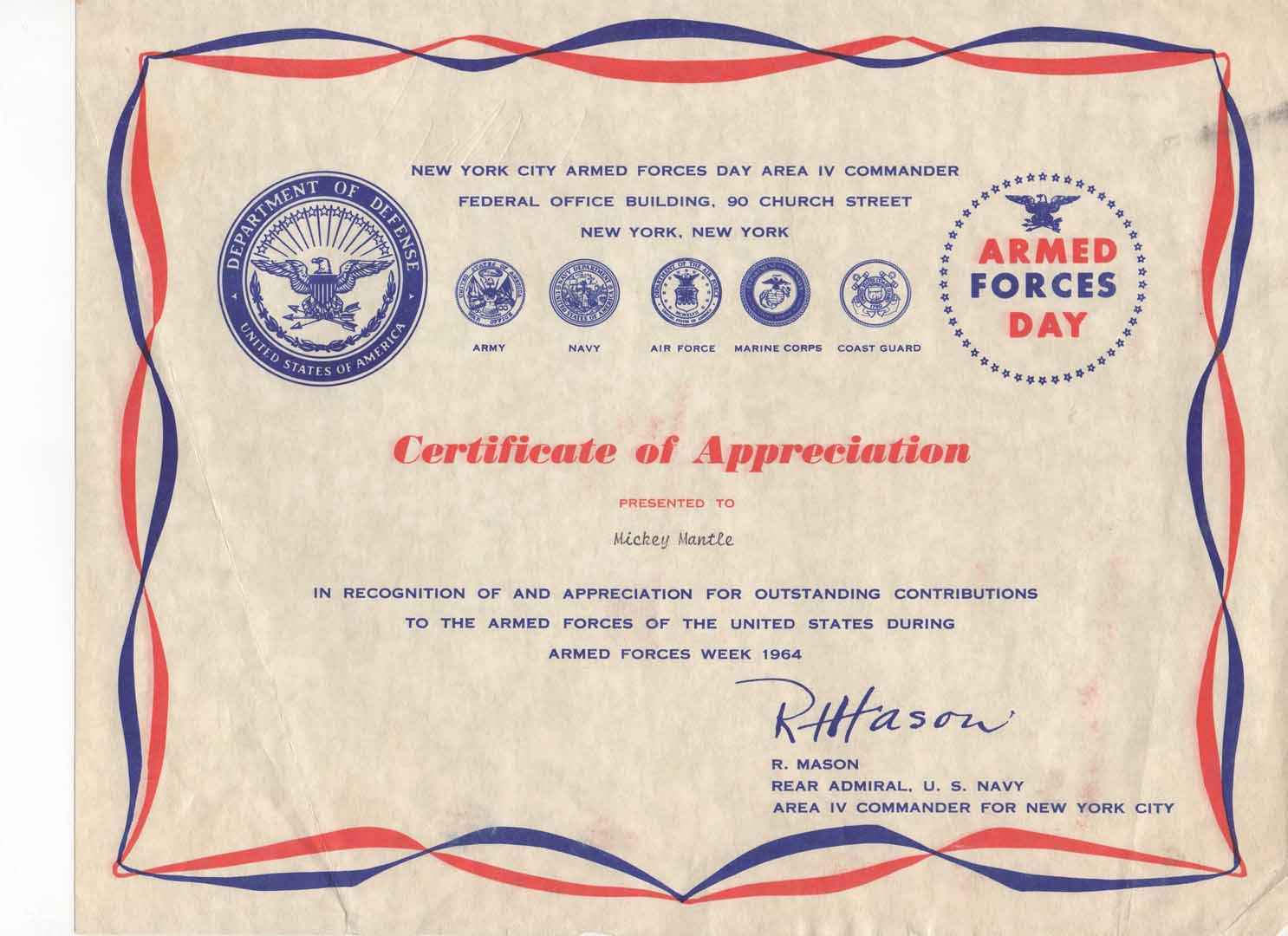 1964 armed forces day