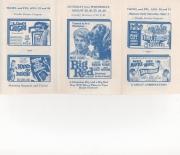 1962 movie flyer, badger, wisconsin 08/30,31