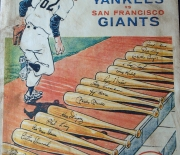 1962 world series large cardboard