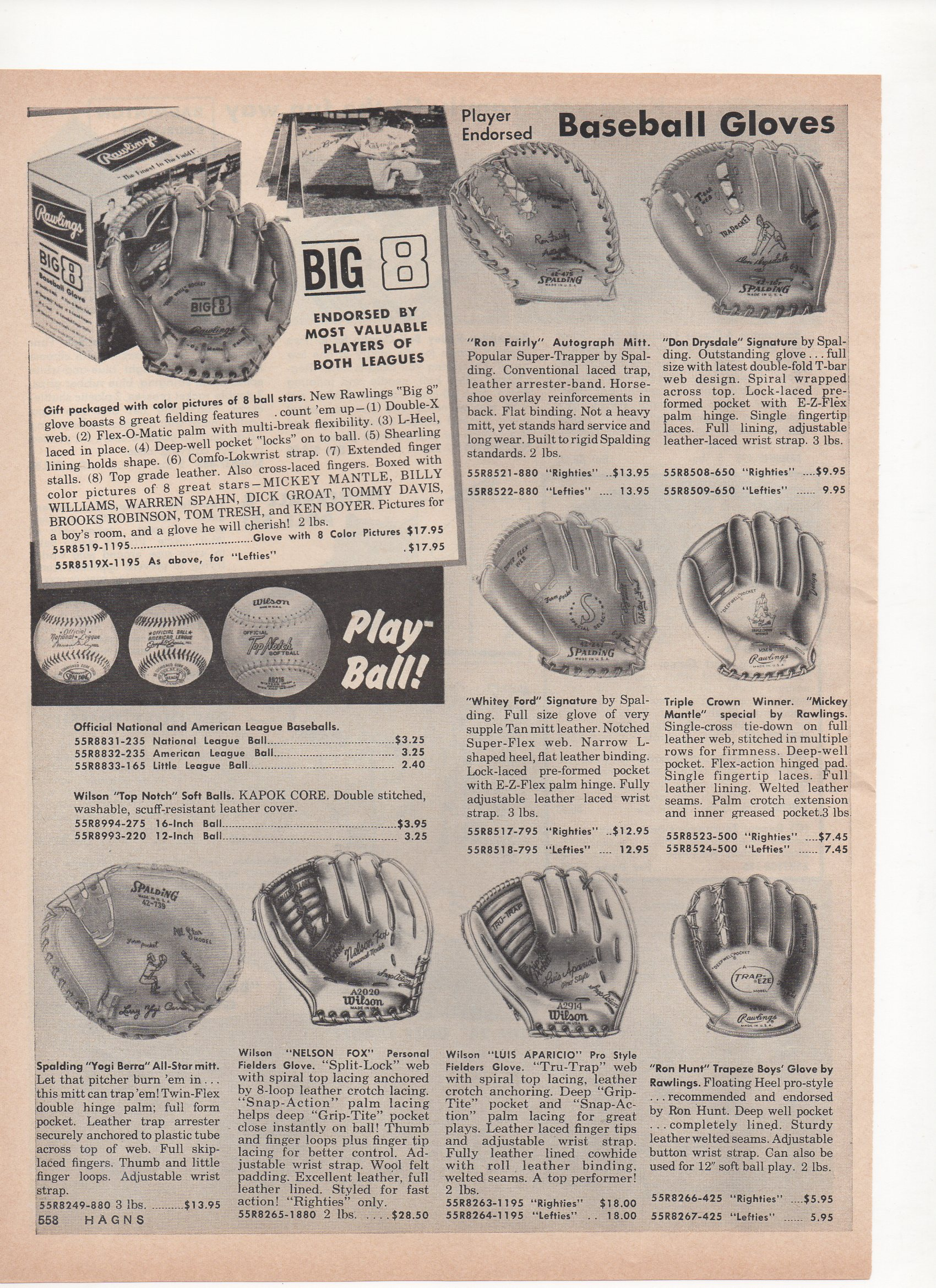 1966 hagns catalog