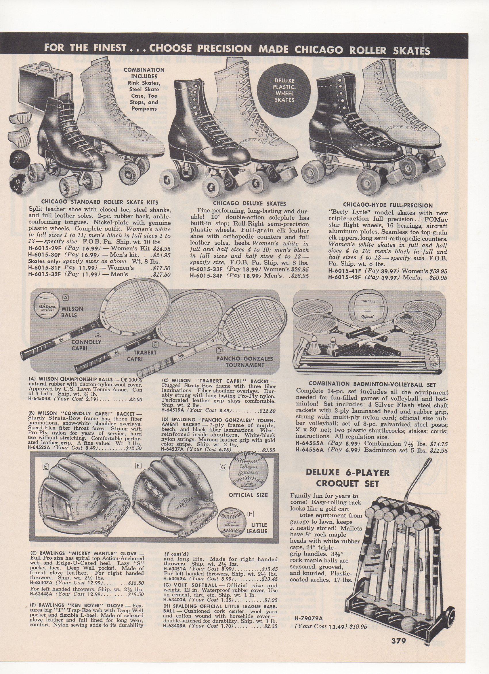 1966 milway catalog