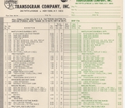 1966 transogram catalog