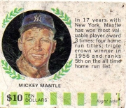 1968 american oil extremely rare mantle right side
