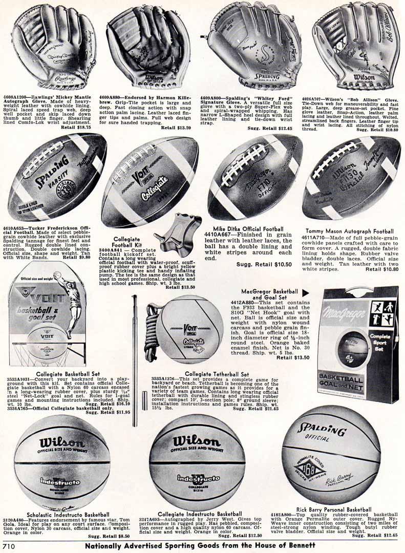1967 bennett brothers catalog