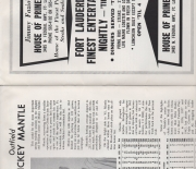 1966 yankees official spring guidebook program, ft. lauderdale, fl.