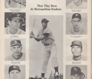 1965 minnesota twins yearbook