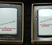 1969 zippo lighters, two versions