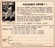 1970 baseball digest
