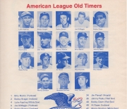 1975 2nd annual old timers game, 07/19/1975