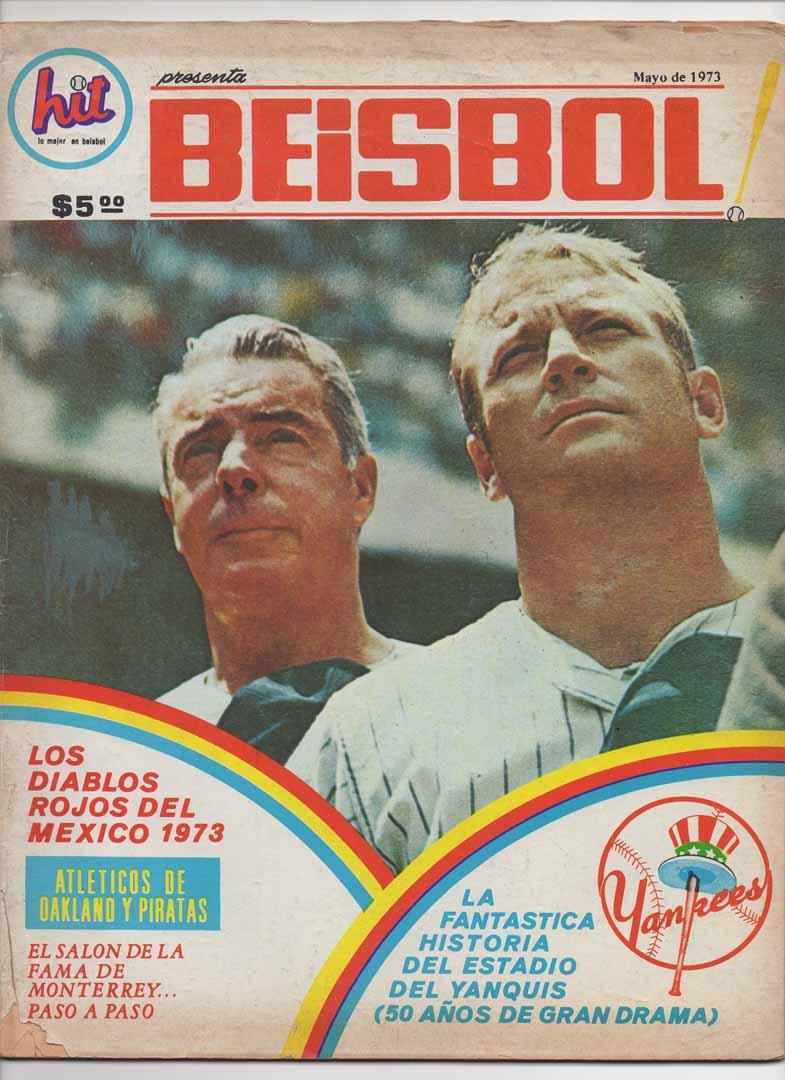 1973 spanish beisbol magazine