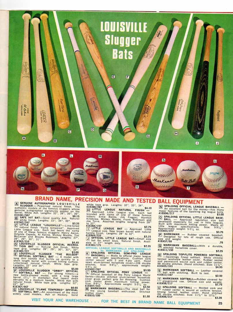 1971 national specialty catalog