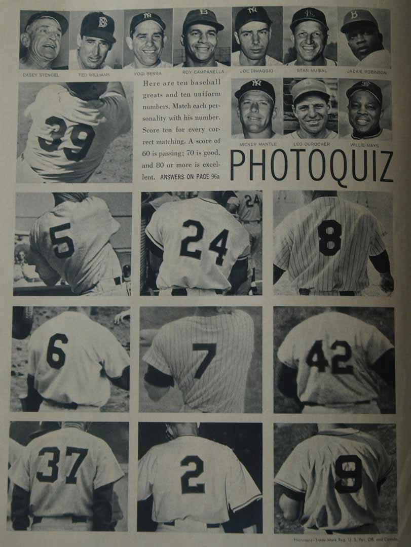 1950 era unknown magazine