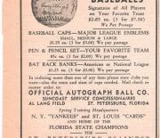 1950 era unknown florida newspaper