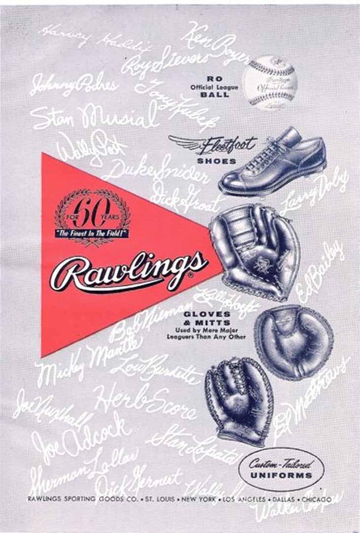 1959 official baseball annual non pro