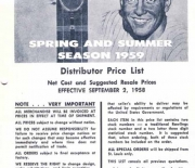 1958 rawlings salesmans book September