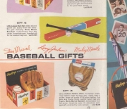 1962 rawlings gift sets pullout 3 page flyer