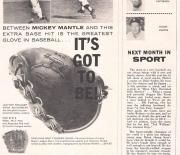 1950 era sport magazine