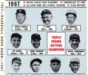 1967 baseball dope book