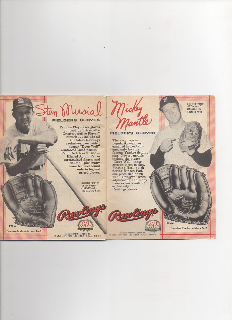 1958 rawlings baseball rules