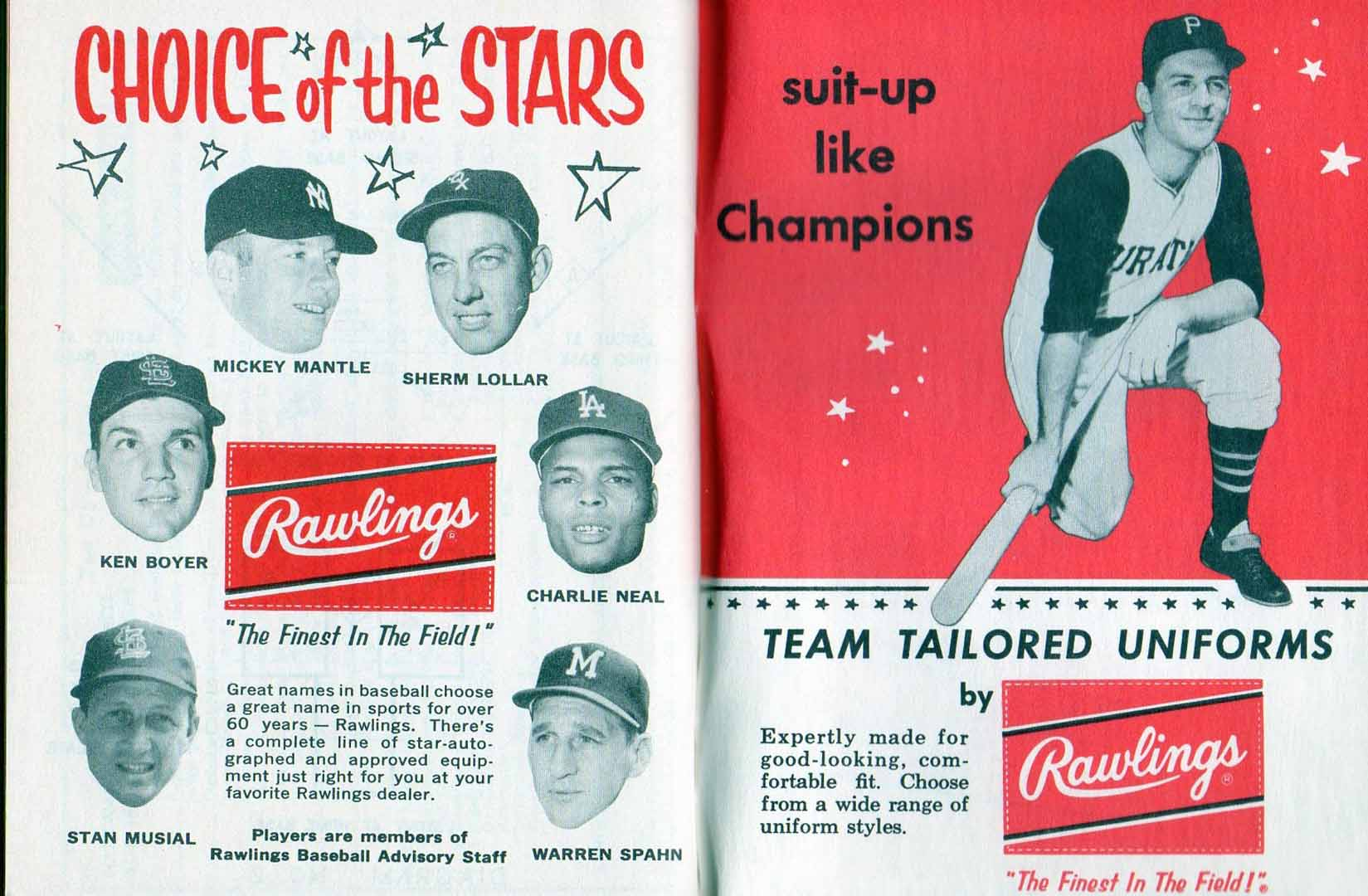 1961 official baseball rules