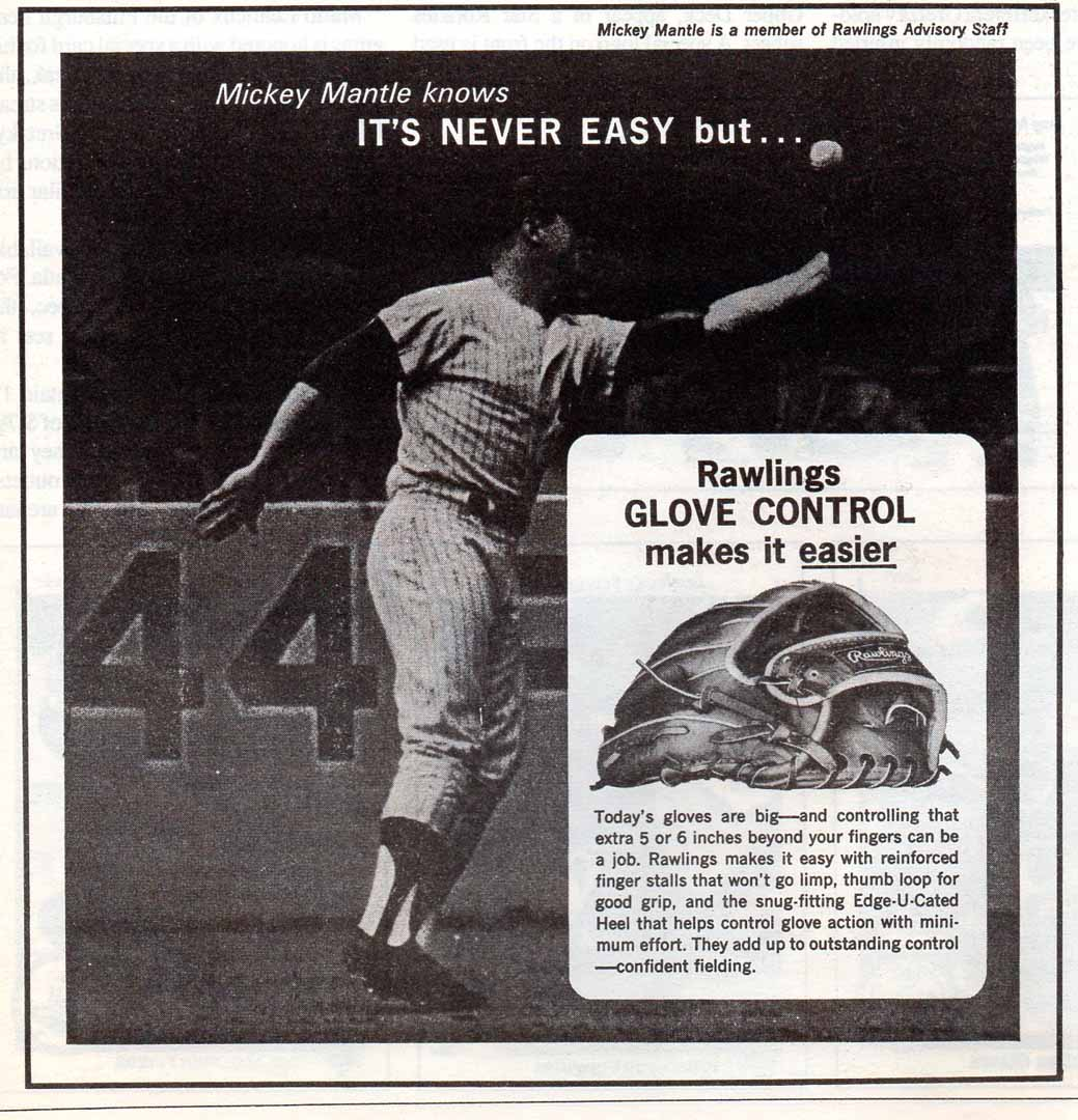 1991 baseball hobby news reprint ad
