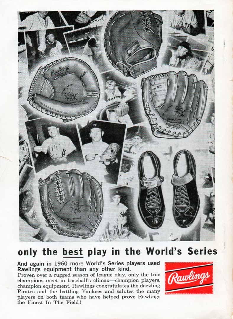 1961 baseball official guide sporting news
