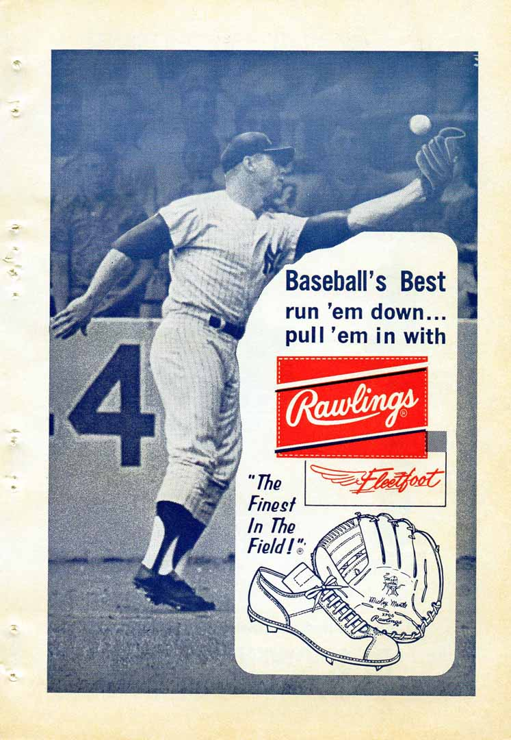 1964 official baseball annual non pro