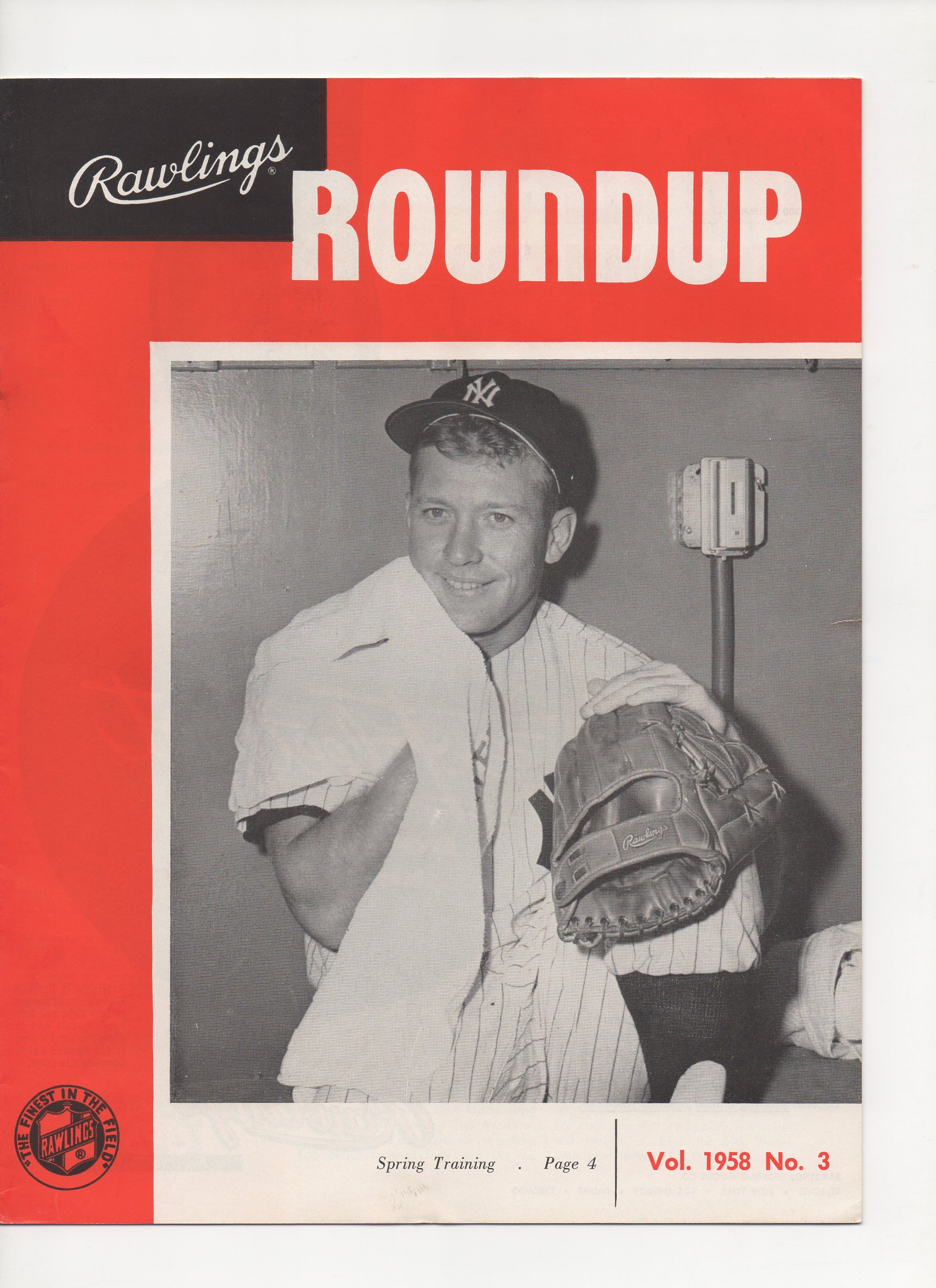 1958 rawlings roundup, vol. no. 3