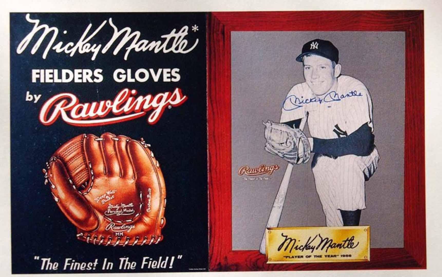 1957 18x31 hard cardboard poster