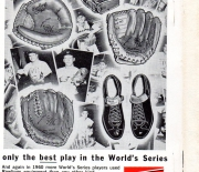 1961 worlds series record book
