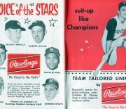 1961 official baseball rules